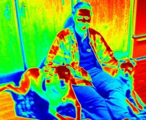 Me & Thor & Tupper :)